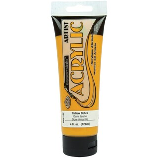 Essentials Acrylic Paint 4oz-Yellow Ochre