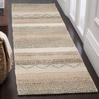 Safavieh Natura Hand-Tufted Beige Wool Runner Rug (2'3 x 6')