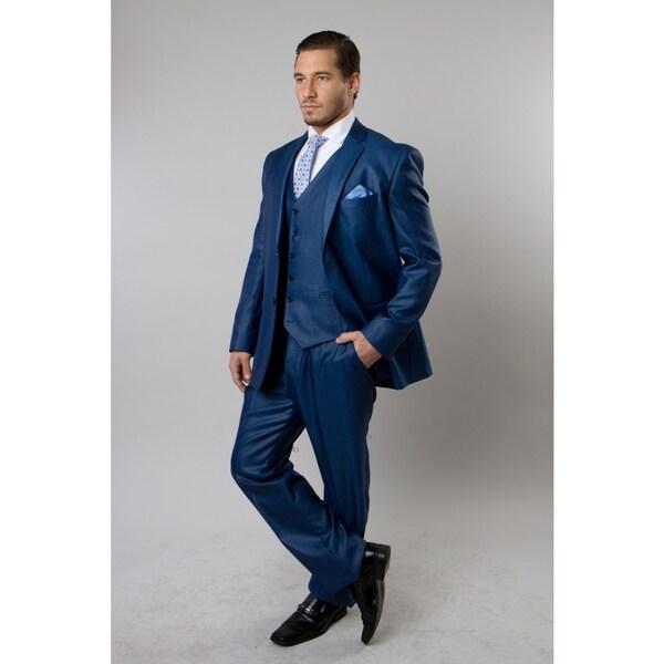 TAZIO Men's 3-piece Suit