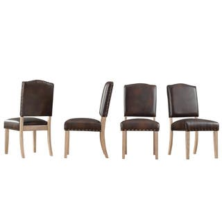 Avingdon Shield Back Light Distressed Natural Dining Chairs (Set of 4)|https://ak1.ostkcdn.com/images/products/15219603/P21695183.jpg?impolicy=medium