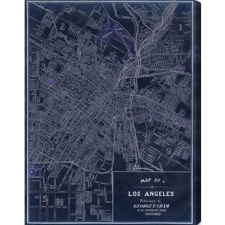 Hatcher and Ethan 'Los Angeles 1899' Canvas Art