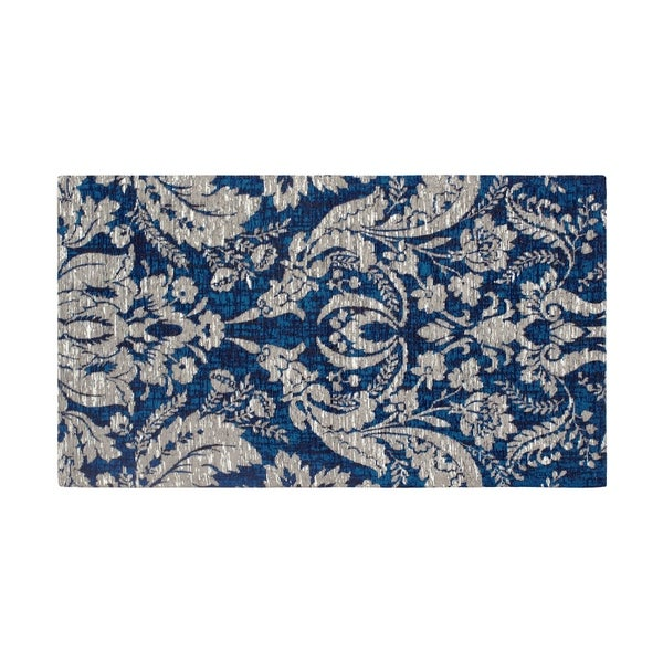 Laura Ashley Kitchen >> Shop Laura Ashley Connemara Jacquard Chenille Textured Area Rug - (5 x 8 ft.) - Free Shipping