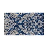 Laura Ashley Connemara Jacquard Chenille Textured Area Rug - (5 x 8 ft.)