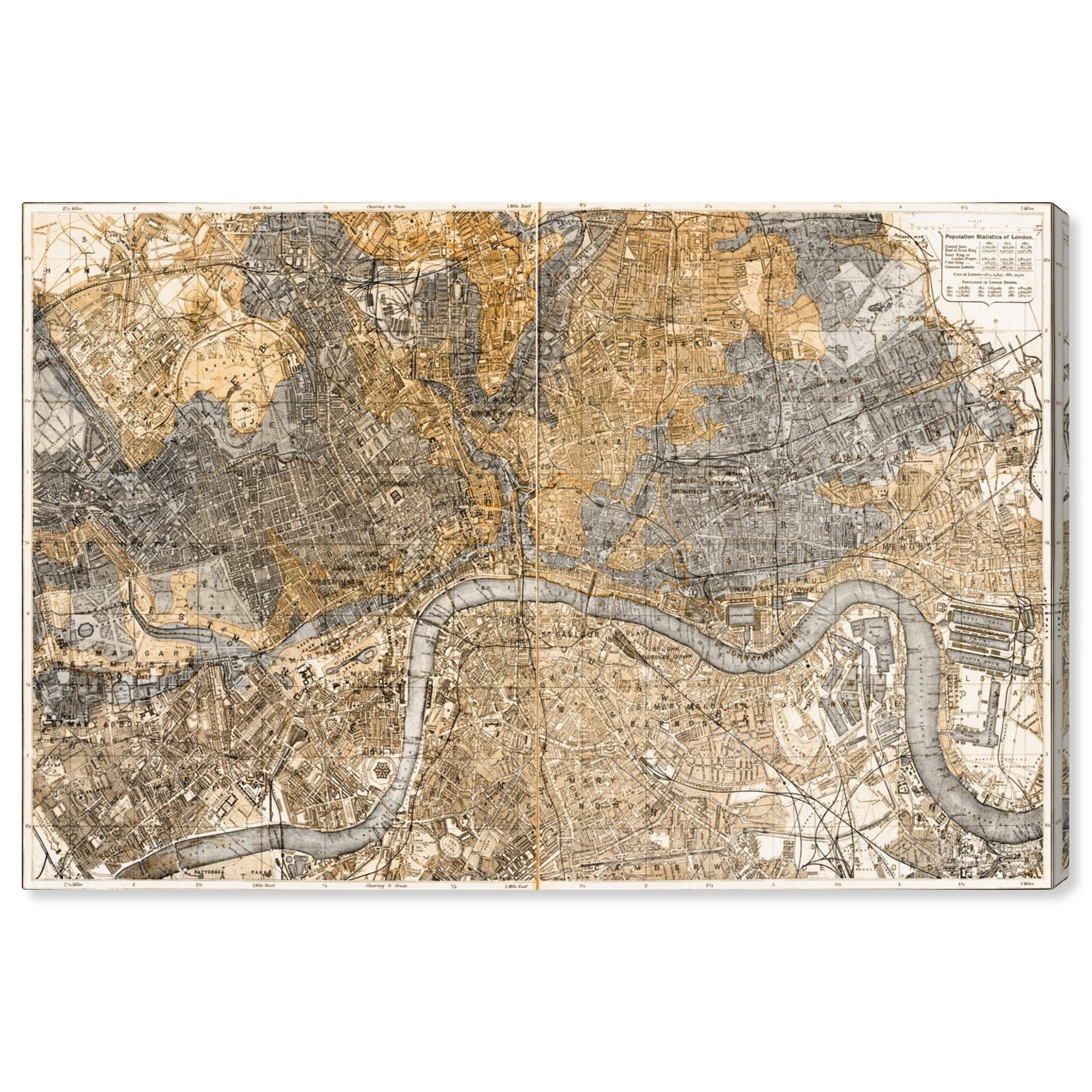 Oliver Gal 'London 1883 Map' Maps and Flags Wall Art Canvas Print - on map of africa, map of the us, map of greece, map of senegal, map of the mediterranean, map of tangier, map of atlantic ocean, map of gibraltar, map of fez, map of world, map of romania, map of marrakech, map of nicaragua, map of austria, map of mali, map of algeria, map of honduras, map of saint martin, map of western sahara, map of mongolia,