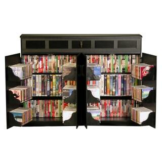 Shop Broadway Black Large Deluxe Cd Dvd Media Storage