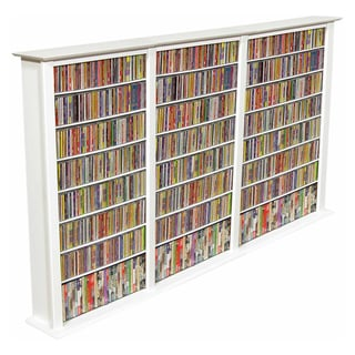 "Venture Horizon  50"" Media Storage Triple Tower - White"