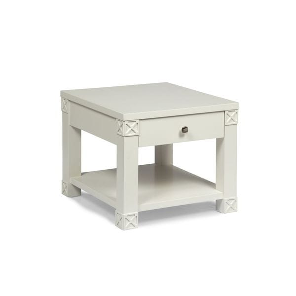 Darra White Side/End/Coffee Table