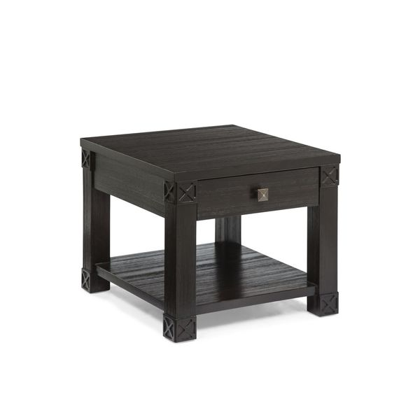 Darra Black Wood End/ Coffee Table