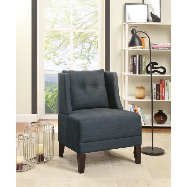 Fabulous Shop Bobkona Prissy Accent Chair Free Shipping Today Home Remodeling Inspirations Propsscottssportslandcom
