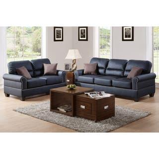 Black Living Room Furniture Sets For Less | Overstock