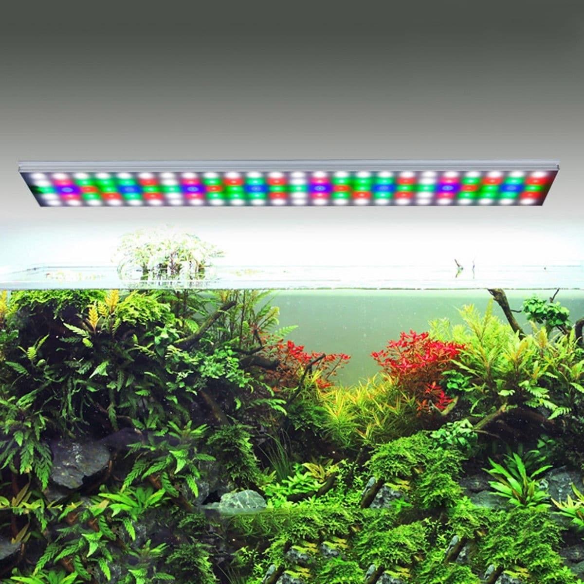 156/129/78 LEDs Multi-Color Over-Head LED Aquarium Light ...