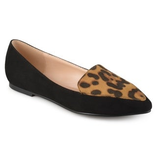 Journee Collection Women's 'Kinley' Pointed Toe Loafer Flats
