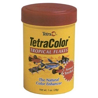 Tetra 1 Oz TetraColor Tropical Flakes