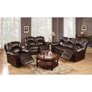 Leather Living Room Furniture Sets For Less | Overstock