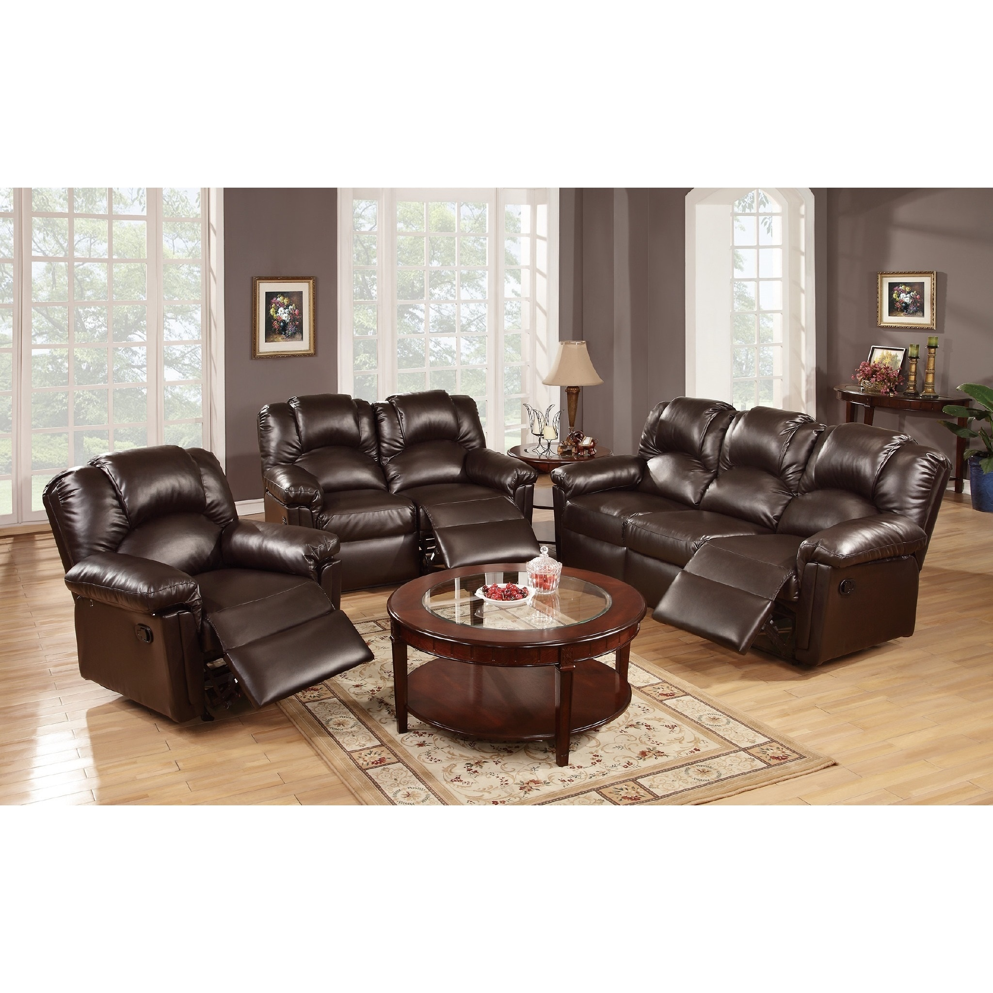 Andy Motion 3 Piece Living Room Set (2 Options Available)