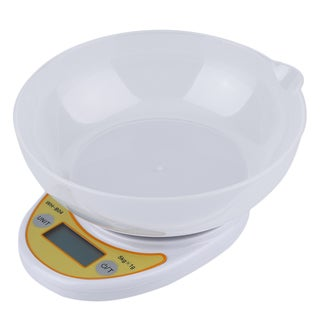 Digital Kitchen Scale 5KG 11LBS x 1g with Bowl