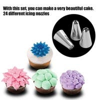 Iron Icing Piping Nozzles Set (Box of 24)