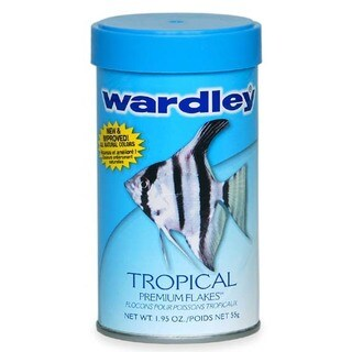 Hartz 1.95 Oz Wardley Tropical Premium Flakes