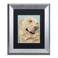 Pat Saunders-White 'Jasper' Matted Framed Art