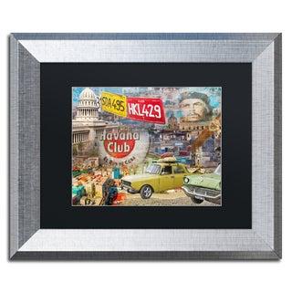 Alberto Lopez 'Capital' Matted Framed Art