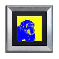 Claire Doherty 'Chimp No 2' Matted Framed Art