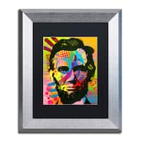 Dean Russo 'Abraham Lincoln II' Matted Framed Art