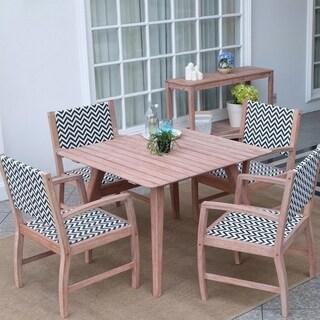 Cambridge Casual Astoria Weathered Reddish Brown Mahogany Wood 5-piece Dining Set