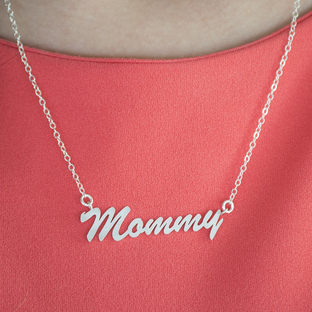 Twobirch Sterling Silver Large Mommy