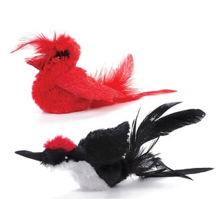 OurPets Real Birds Cat Toy