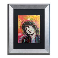 Dean Russo 'Mick 2' Matted Framed Art - Multi