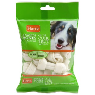 Hartz 3oz Prime Beef Brand Natural Mini Bone Chews