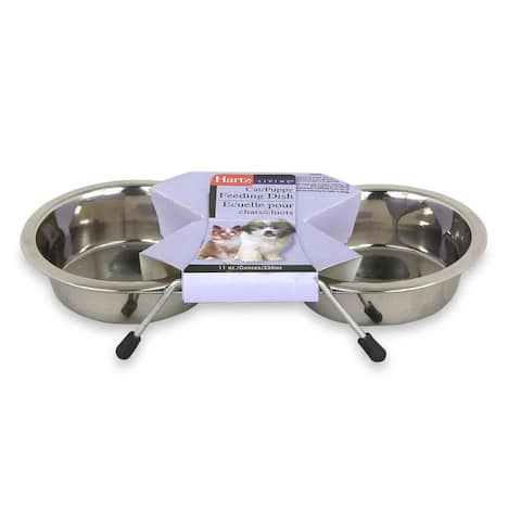 Dish Pet Stainless Steel Double Dish