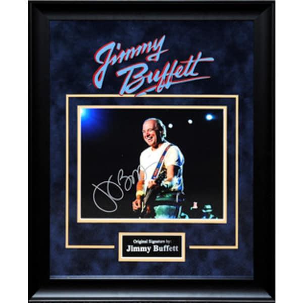 Hand-signed Jimmy Buffet photograph