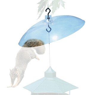 "Perky Pet 16"" Clear Acrylic Squirrel Baffler"