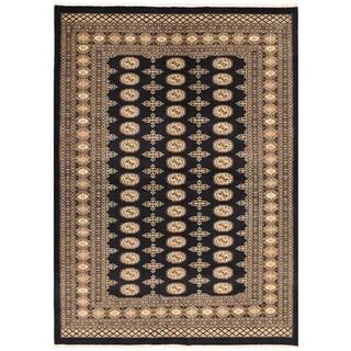 Herat Oriental Pakistani Hand-knotted Bokhara Wool Rug (5'8 x 7'9)