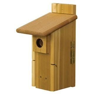 Ultimate Nest Box Mounted Birdhouse