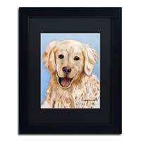 Pat Saunders-White 'Jasper I' Matted Framed Art