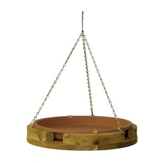 "14"" Hanging Bird Bath"