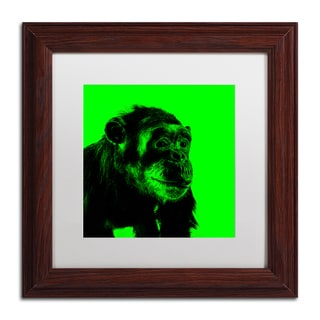 Claire Doherty 'Chimp No 5' Matted Framed Art