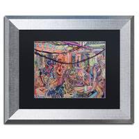 Josh Byer 'BBQ' Matted Framed Art