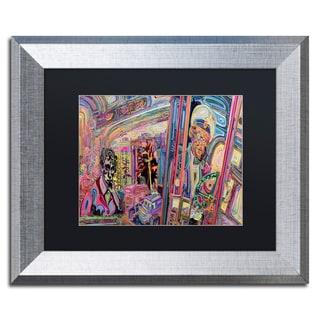 Josh Byer 'The Gumball Express' Matted Framed Art