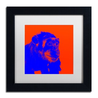Claire Doherty 'Chimp No 6' Matted Framed Art