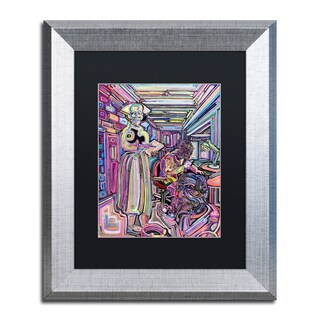 Josh Byer 'Lab' Matted Framed Art