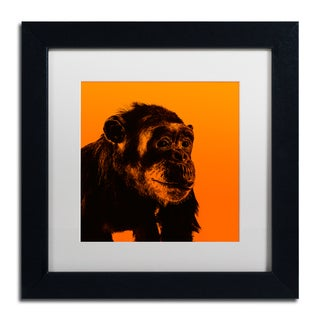 Claire Doherty 'Chimp No 3' Matted Framed Art