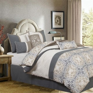 Camila 7 Piece Comforter Set by Nanshing