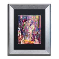 Josh Byer 'Ghost' Matted Framed Art