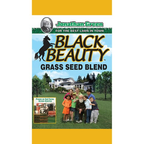 Jonathan Green Black Beauty Grass Seed Mix, 25-Pound