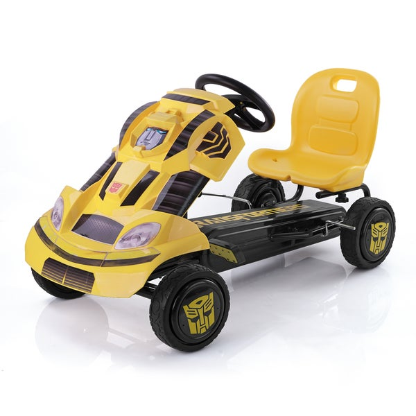 Hauck Transformers Bumblebee Ride-On Pedal Go-Kart