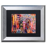 Josh Byer 'Parlour' Matted Framed Art