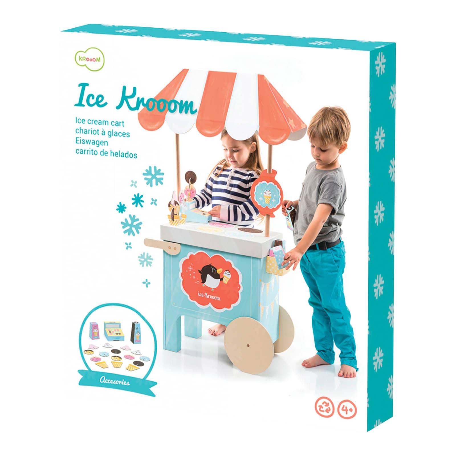 Toysmith Krooom Ice Krooom Cart Playset (G085761233362), ...